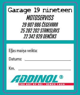Addinol eļļas maiņa, motoserviss, Ķekavā, Baložos, Ziepniekkalnā, Garage 19