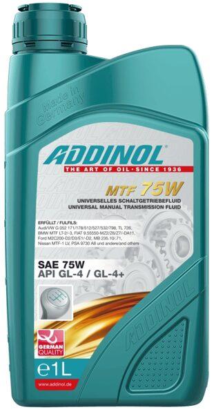 MULTI TRANSMISSION FLUID 75W, API GL-4+, ātrumkārbas un sadales kārbas eļļa, DTF 1