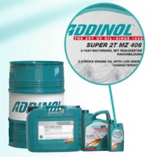 ADDINOL SUPER 2T MZ 406, motorzāģu, trimmeru un dārza tehnikas eļļa