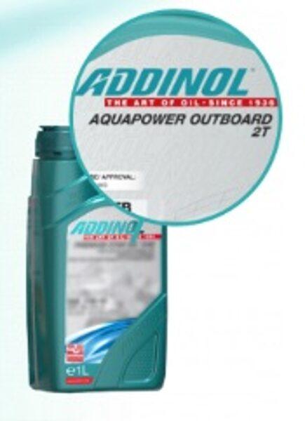 ADDINOL AQUAPOWER OUTBOARD 2T (Minerālā, laivu motoru eļļa, NMMA FC-W) API TC, JASO FB, NMMA TC-W3)
