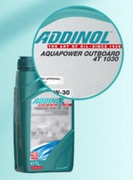 ADDINOL AQUAPOWER OUTBOARD 4T 10W30 (Piekaramo laivu motoru eļļa, NMMA FC-W)