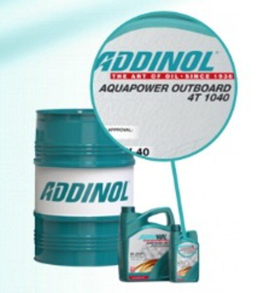 ADDINOL AQUAPOWER OUTBOARD 4T 10W40 (Piekaramo laivu motoru eļļa, NMMA FC-W)
