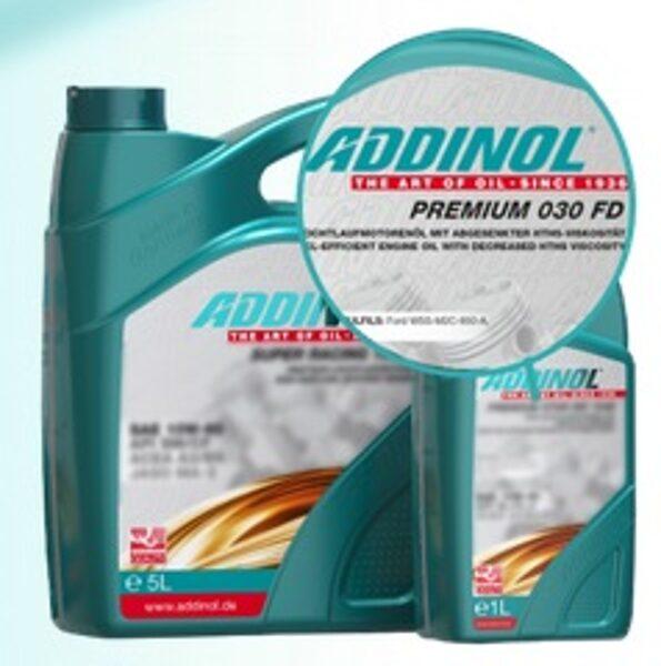 ADDINOL Premium 0w30 FD, ACEA A5/B5 C2, Ford WSS-M2C950-A, aizstāj Volvo 95200377, Toyota, ST JLR.03.5007