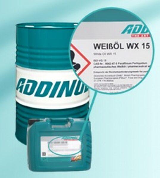 ADDINOL WEISSÖL WX 15, Lampu un lāpu eļļa, degšķidrums, caurspīdīga bez krāsas un smaržas. 1L