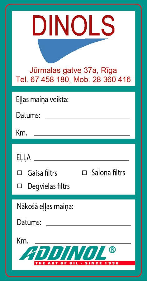 Addinol eļļas maiņa, autoserviss, auto apkope, remonts un rezerves daļas, Rīgā, Imantā, Zolitūdē.